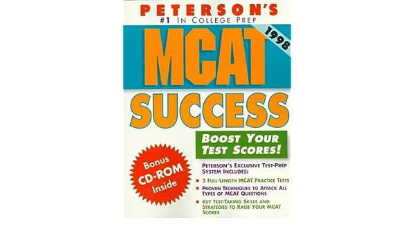 Peterson's McAt Success: 9781560799290: Medicine & Health