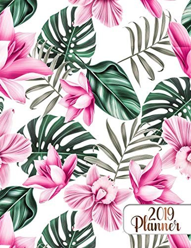 (2019 Planner: Hawaiian & californian summer style 2019 planner organizer with weekly views, inspirational quotes, to-do lists, funny holidays and much)