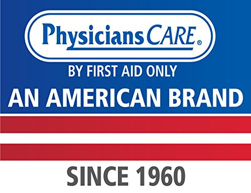 PhysiciansCare by First Aid Only 24-308 Wall Mountable Eye Wash Station with Triple 8 oz Bottle, 13.5'' L x 3'' W x 11.5'' H