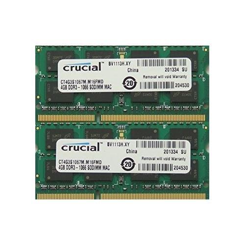 memory PC3 8500 1067MHz SODIMM Macbooks product image