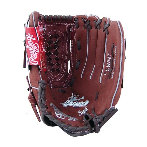 Rawlings FP125PC 12.5 Inch Fast Pitch Softball Glove Left Hand Throw by Rawlings