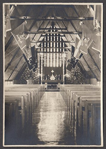 (7th Infantry Division Memorial Chapel Camp Casey Tong Du Chon Korea RPPC 1950s )