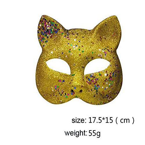 Lsinyan halloween cosply party costume sexy cat mask for women/Bedroom games cats Masks sexy yellow