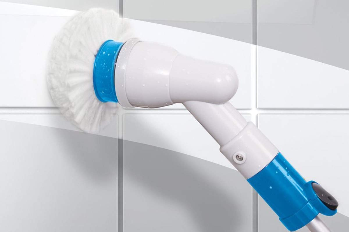 Hurricane Spin Scrubber Cordless Rechargeable Power Scrubber by BulbHead (1 Pack) by Hurricane (Image #3)