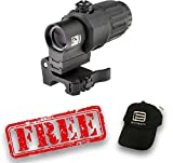 Eotech G33.STS Magnifier with Switch to Side Mount 3x Red Dot Reflex Sight With $75 EOTech rebate and free hat