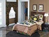John Deere Tractor Boys Twin Comforter & Sheet Set (4 Piece Bedding)