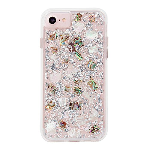 Case-Mate iPhone 8 Case - KARAT - Real Mother of Pearl - Slim Protective Design for Apple iPhone 8 - Mother of Pearl