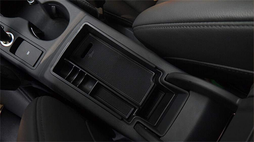 Vesul Armrest Secondary Storage Box Glove Pallet Container Compatible with Audi Q3 2013 2014 2015 2016 2017 2018