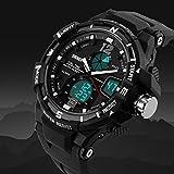 SKMEI 1148 Analog Digital Dual Time Chronograph Waterproof Men Sport Watch
