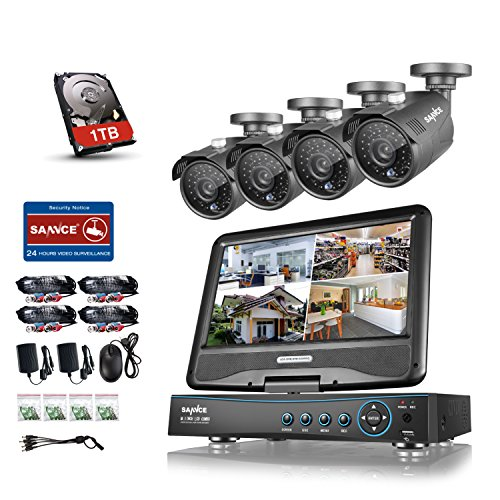 Security Recorder Monitor 1280TVL Outdoor