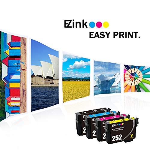 E-Z Ink (TM) Remanufactured Ink Cartridge Replacement for Epson 252 T252 T252120 to use with Workforce WF-3640 WF-3630 WF-3620 WF-7610 WF-7620 WF-7110 (6 Black, 3 Cyan, 3 Magenta, 3 Yellow, 15 Pack) by E-Z Ink (Image #5)