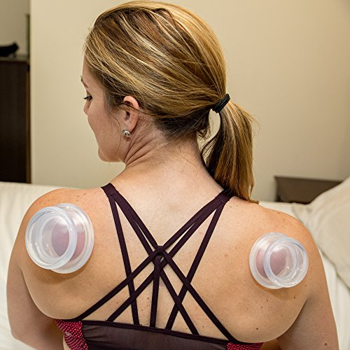 Massage Cups - Anti Cellulite Cup Therapy Set | Silicone Vacuum Cupping Massager for Joint & Muscle Pain Relief - Best for Physical Therapy, Deep Tissue Myofascial Release with Travel Bag by Simple Spectra (Image #8)