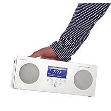 Tivoli Audio Music System 3 AM/FM Radio with Bluetooth - White