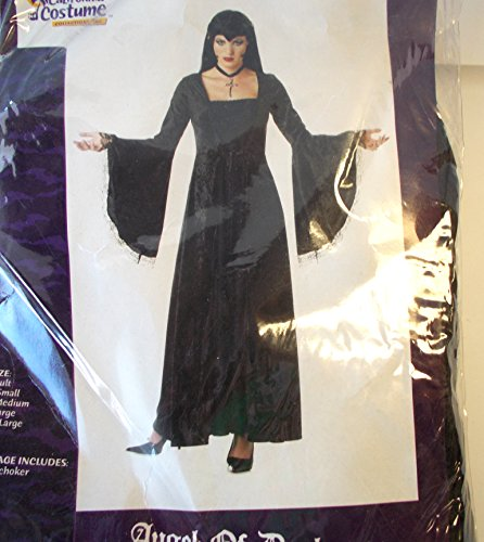 (California Costume Collection Women's Angel Of Darkness Costume Multicoloured)