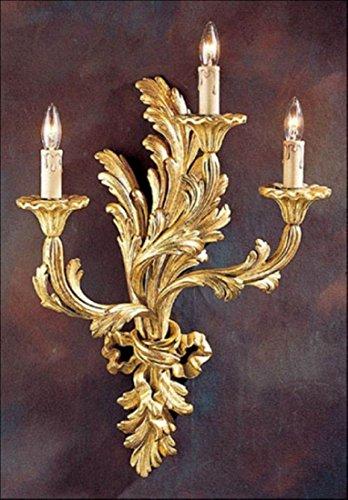 Decorative crafts 1899 Carved Wood Sconce ()