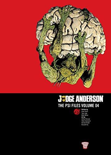 Judge Anderson: The Psi Files Volume 04