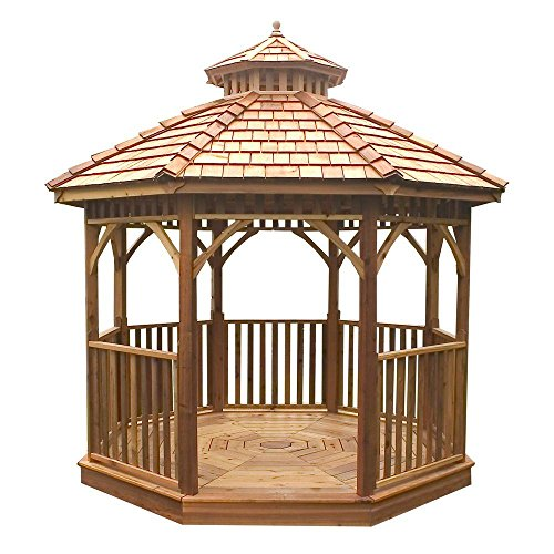 - Outdoor Living Today Bayside 12' X 12' Octagon Gazebo
