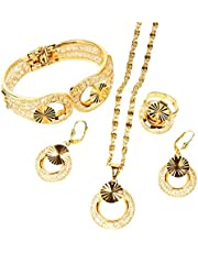 18 K gold plated fashion wedding accessories accessories women gold-plated jewelry