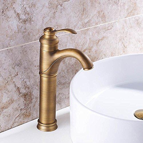 Hiendure Tall Spout Bathroom Vessel Sink Faucet Single Le...
