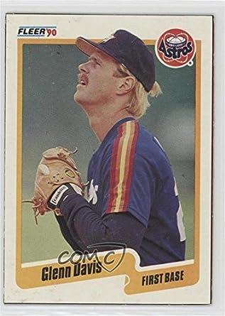 Amazoncom Glenn Davis Baseball Card 1990 Fleer Wax Box