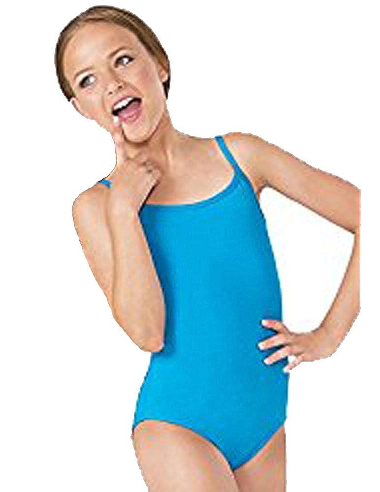 ELEGANCE1234 Ladies Quality Thin Strap Cotton Leotard/Bodysuits