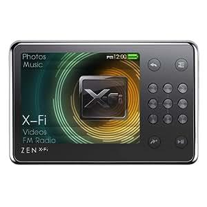 Refurbished Creative Zen X-Fi Mp3 Player 8GB