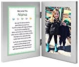 Gift for Nana, Sweet Poem for Grandmother from Grandchildren, Twins - Add Photo