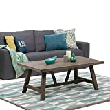 Simpli Home Dylan Coffee Table, Driftwood