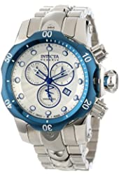 Invicta Watches Mens Venom Reserve Chronograph Stainless Steel Watch