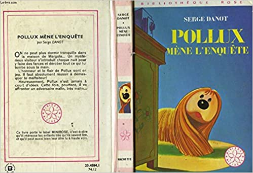 Amazon Fr Pollux Mene L Enquete Bibliotheque Rose