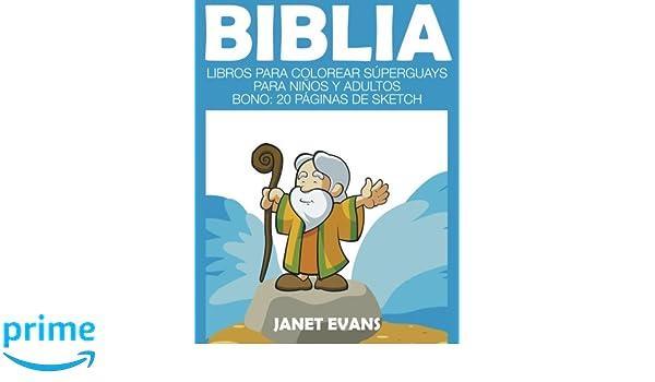 Biblia: Libros Para Colorear Súperguays Para Niños y Adultos (Bono ...
