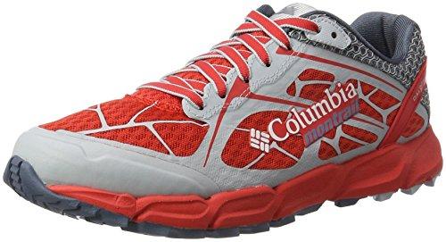 para Mujer de Poppy Rojo Caldorado Running Columbia Red Asfalto II Mountain Zapatillas para XUwSgqxA