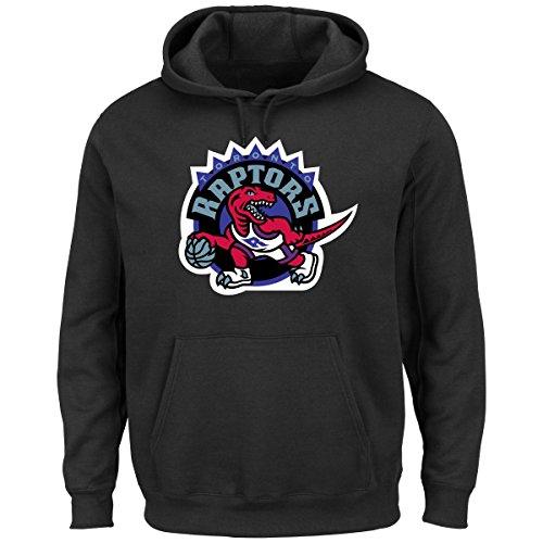 NBA Toronto Raptors 95-08 Men's Tek Patch Fleece, Black, X-Large