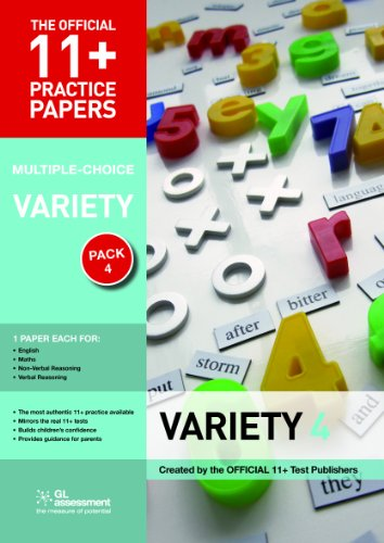 11+ Practice Papers, Variety Pack 4, Multiple Choice (Official 11+ Practice Papers)