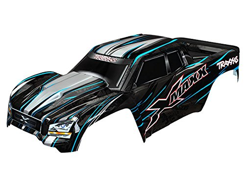 Traxxas 7711A Blue X-Maxx Body (Painted with Decals Applied), Includes Tailgate Protector Vehicle