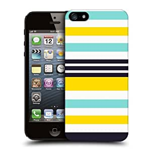 Head Case Designs Bees and Sky Stripes Collection Hard Back Case Cover for Apple iPhone 5 5s