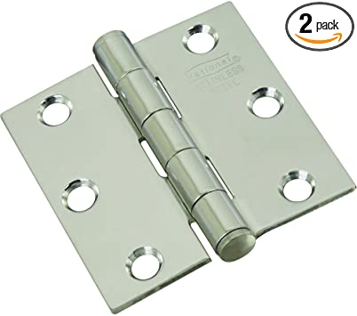 L Ornamental T Hinge  Stainless Steel  1 pk National Hardware  7 in