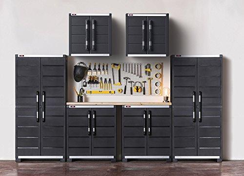 Keter Xl Pro 6 Cabinet Garage System Black Gosale Price