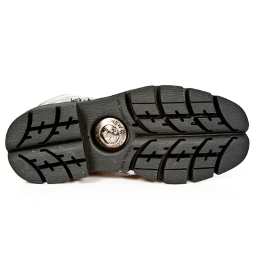 New Rock Newrock Stiefel Style Style Style M.NEWMILI084 S1 Schwarz Unisex Stahl Zeh 63f312