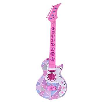 HYZH Guitarra Electrica para Niños 4 Cuerdas para Principiantes ...