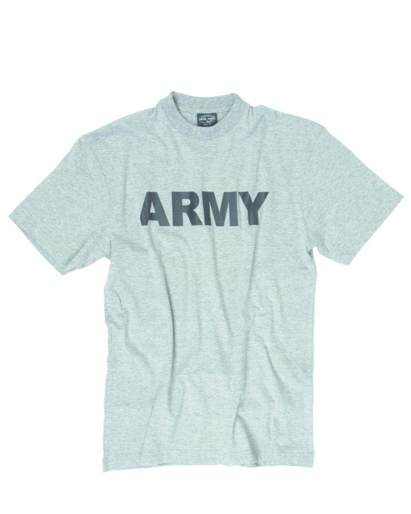 Mil-Tec Camiseta Estampado 'ejército' Gris
