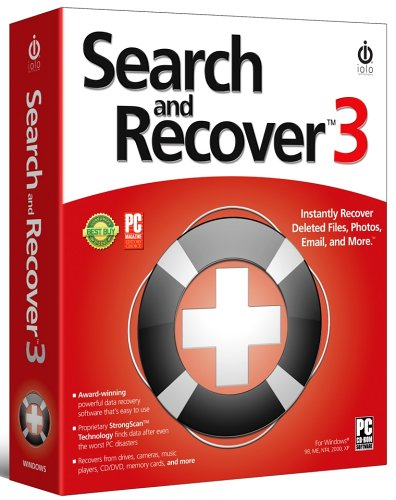 iolo Search and Recover 3 [Instantly recover deleted files, photos, email]