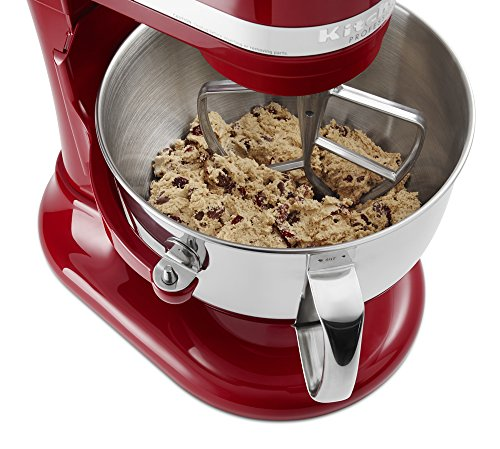 KitchenAid KP26M1XER 6 Qt. Professional 600 Series Bowl-Lift Stand Mixer - Empire Red by KitchenAid (Image #4)
