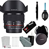 Rokinon FE14MAF-N 14mm F2.8 IF ED MC Nikon DSLR Lens Wide Angle + Accessories