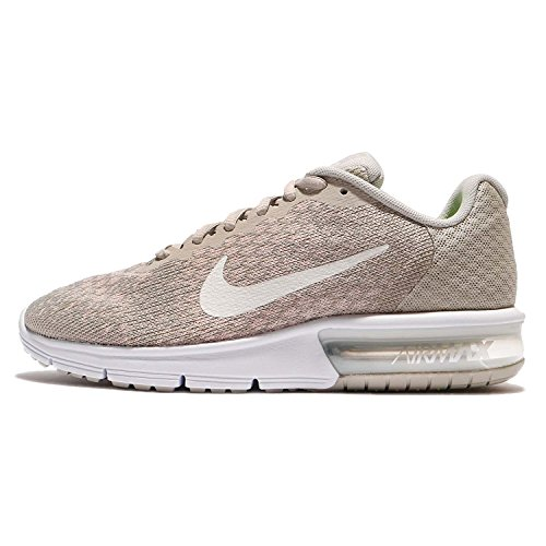 Nike Women's Air Max Sequent Running Shoes Pale Grey/Sail-Light Bone Size 9 (Light Max Nike 2 Air)