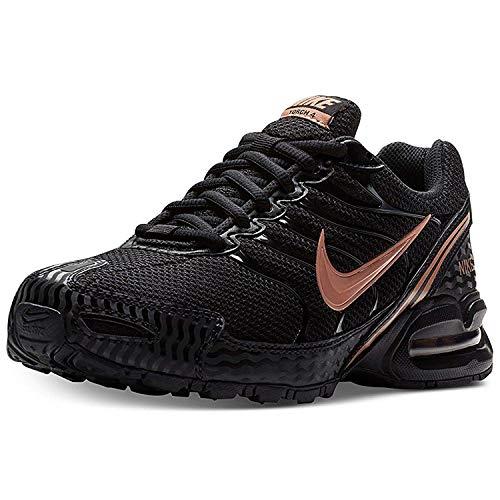 Nike Women's Air Max Torch 4 Running Shoe Black/Metallic Rose Gold/Atmosphere Grey Size 6.5 M US