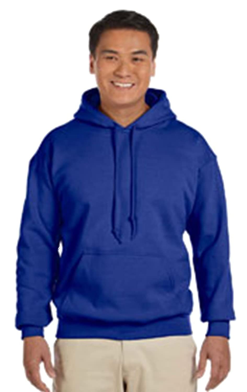 Gildan G185 Heavy Blend Adult Hooded Sweatshirt at Amazon Men's ...
