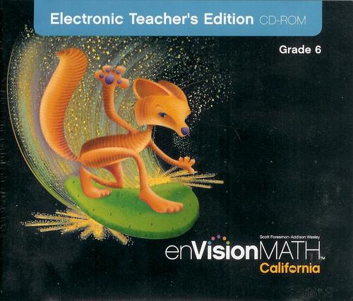 Read Online enVisionMATH CA Electronic Teacher's Edition CD-ROM Grade 6 pdf epub