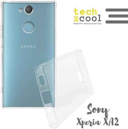 Funda Transparente para Sony Xperia XA2 protección Esquinas ...