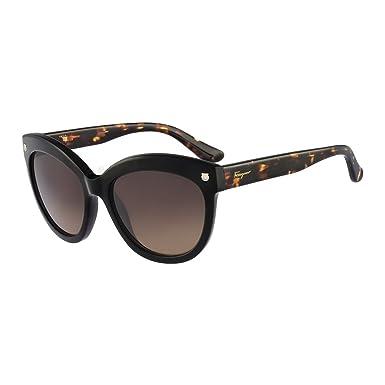 62e687890d6 Amazon.com  Salvatore Ferragamo Womens Women s Sf675s 55Mm Sunglasses   Clothing